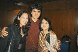At the DGA tribute for Jesus Trevino 11.02.09