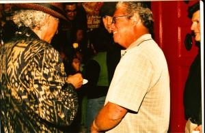 Wayne alaniz Healy at my birthday/concert bash 10.17.08. Photo by George Rodriguez