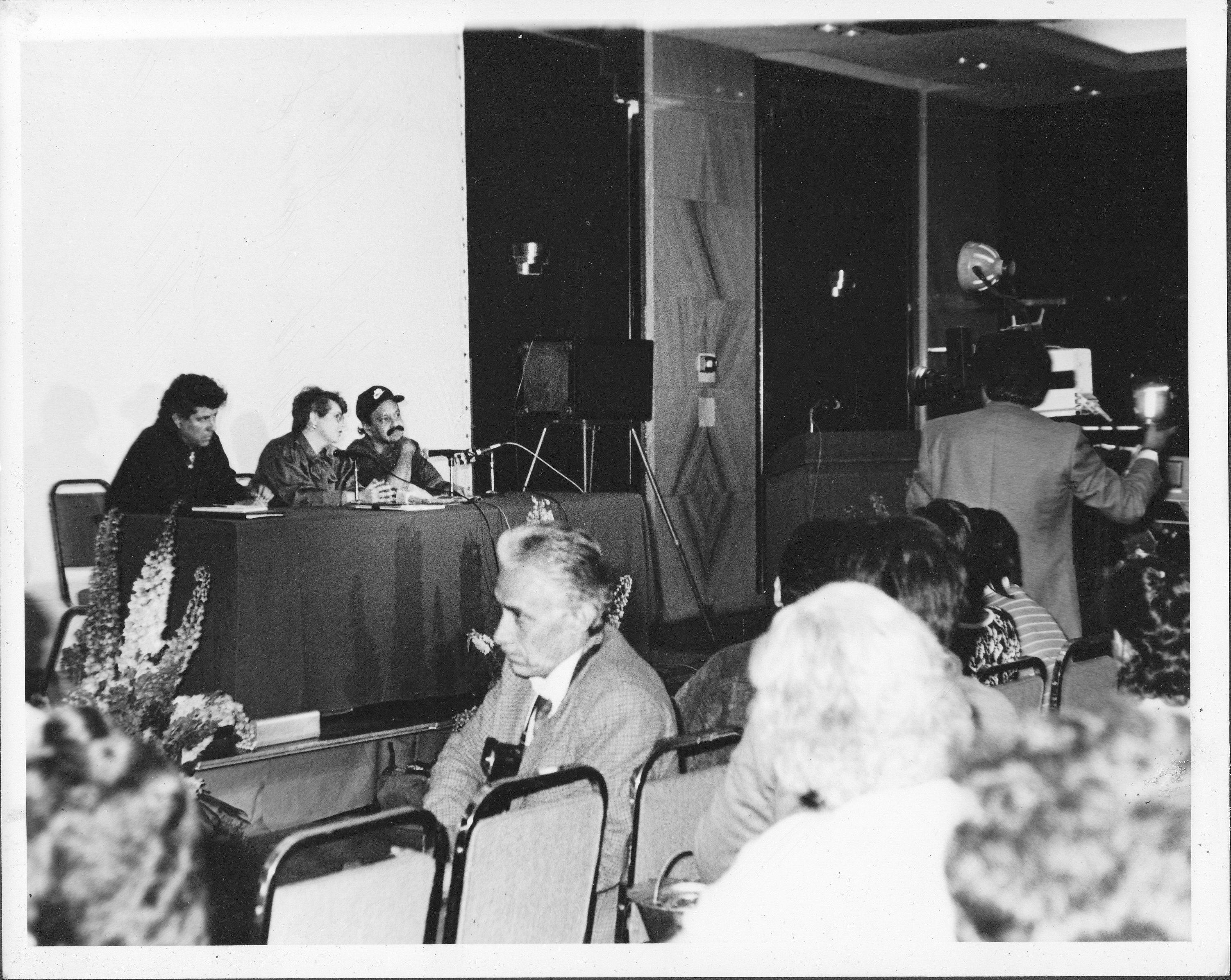 Ruben Funkahuatl Guevara S Tantrik Funk Press Conference